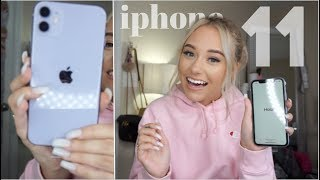 THE HAPPIEST I'VE EVER BEEN... UNBOXING THE NEW IPHONE 11 + WHAT'S ON MY IPHONE?