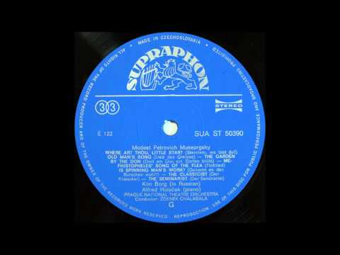 Kim Borg Sings Modest Mussorgsky -- Songs , SIDE 2