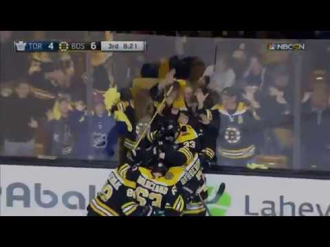 David Pastrnak scores twice, Bruins beat Maple Leafs 6-4 to tie series