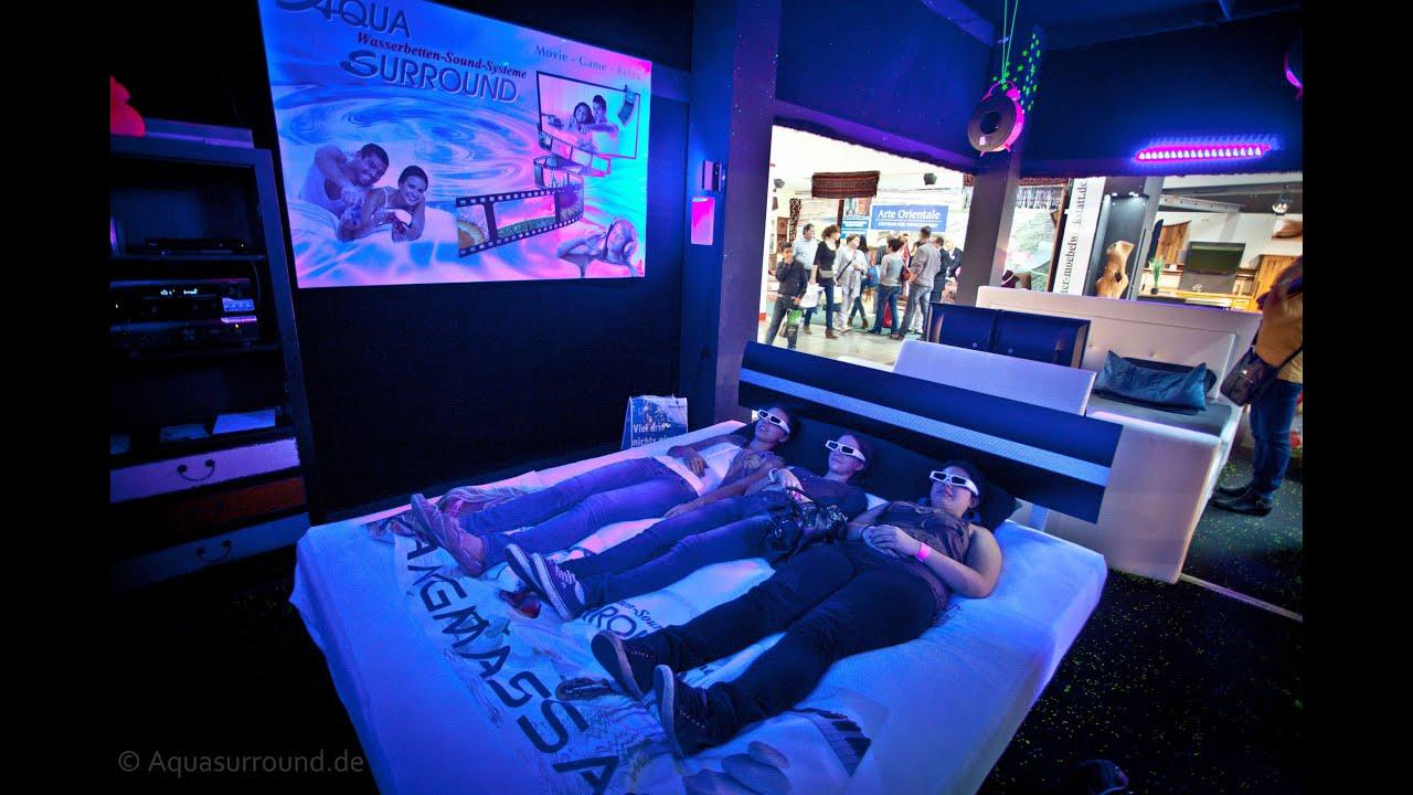 Wasserbett led  TV Bed, Offerta Karlsruhe, String art, Traumstation, Aquasurround ...