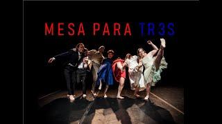 """Compañía FRITSCH COMPANY Psico Ballet Maite León: Promo """"MESA PARA TR3S"""""""
