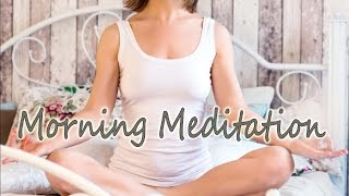 positive morning guided meditation to start the perfect day