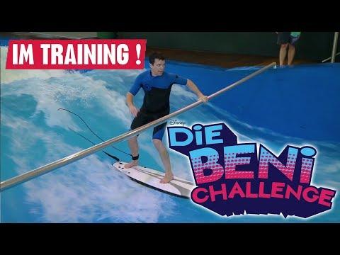 DIE BENI CHALLENGE -  Beni im Training!   Disney Channel