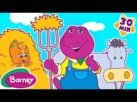 Barney - Old MacDonald Song (30 Minutes)