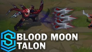 Blood Moon Talon Skin Spotlight - Pre-Release - League of Legends