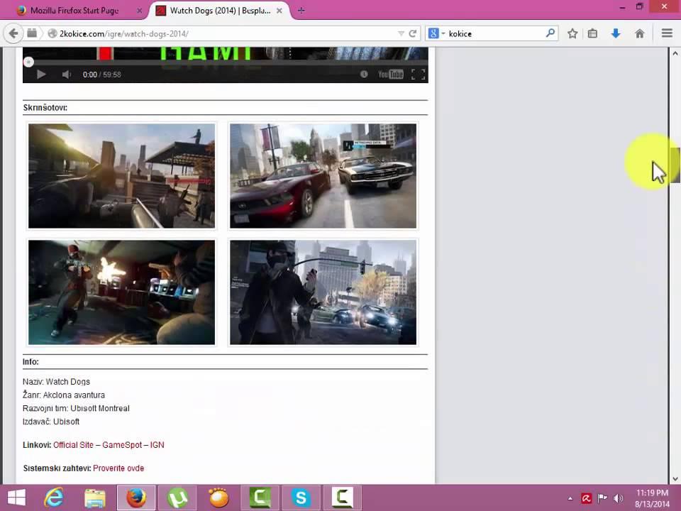 Najbolji sajtovi za skidanje FILMOVA/SERIJA - YouTube