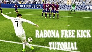 FIFA 15 How To Score Rabona Free Kicks | Xbox & Playstation