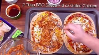 flatout flatbread crowd pleasing bbq chicken pizza