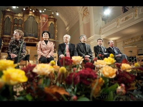 13th International Henryk Wieniawski Violin Competition - 2006 - Prize Giving Ceremony