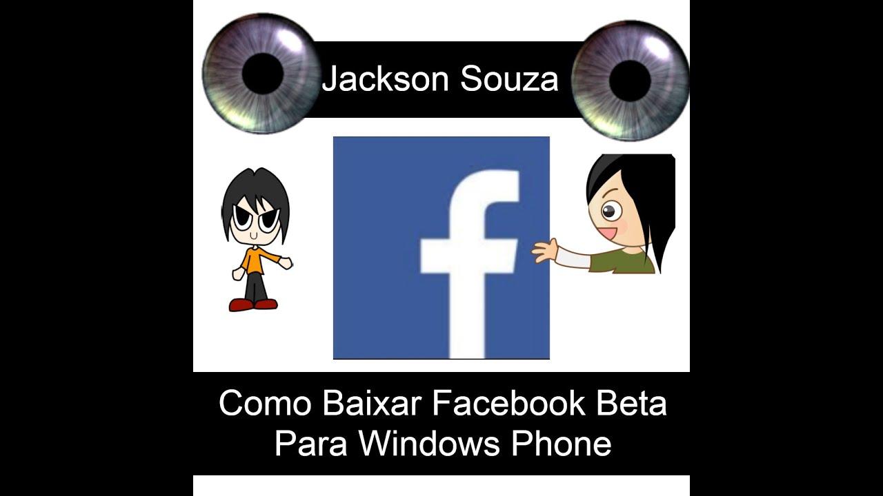 baixar facebook beta para windows phone