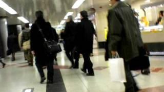 Tokyo station - Yamanote line to Keiyo line