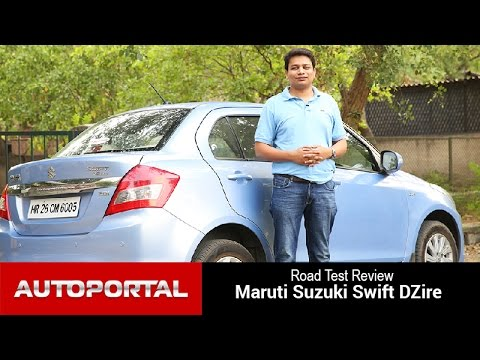 Maruti Suzuki Swift DZire Test Drive Review - Autoportal