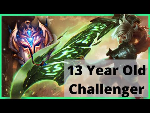 Why Has This 13 Year Old Riven Player Reached Challenger 4 Times?