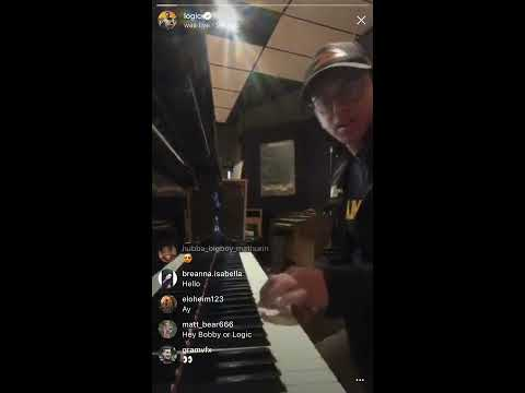Logic Plays His Piano For His Ex-Wife (Jessica Andrea)