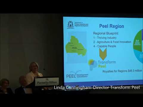 Planning Our Food Future DPIRD, Peel and Wheatbelt Development Councils - Perth Food Bowl