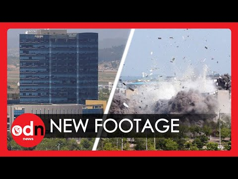 Newly Released Footage Shows Symbolic North Korea Office Explosion