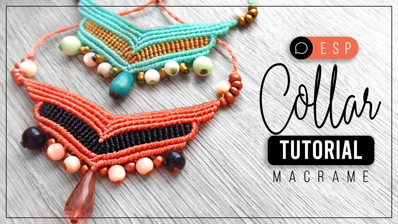 df4d3eec0bb4 Collar chevron » 💎 tutorial
