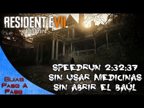 Resident Evil 7 | SPEEDRUN 2:32:37 (Juego COMPLETO sin usar medicamentos ni abrir el baúl)