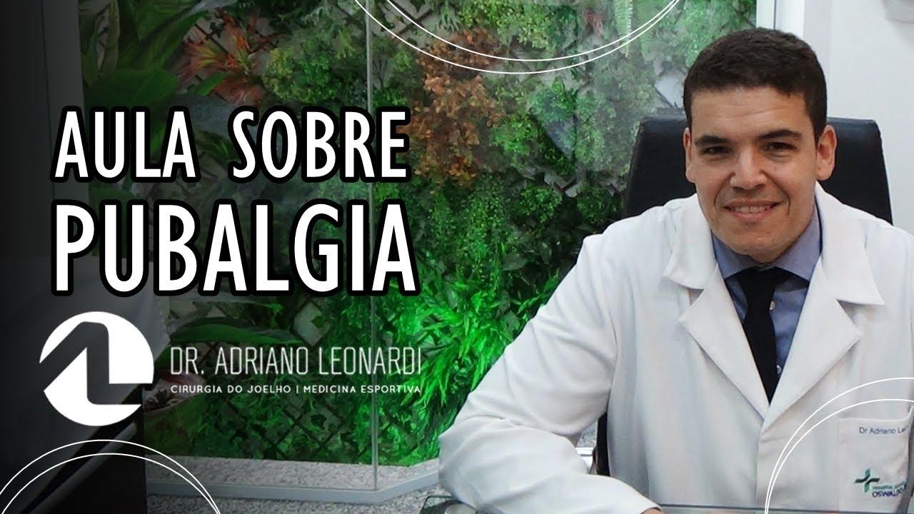 463113a096c AULA SOBRE PUBALGIA - Dr. Adriano Leonardi na Santa Casa de São Paulo - SP.