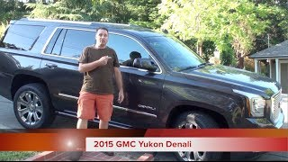 15 Things for Families to Like about the 2015 GMC Yukon Denali