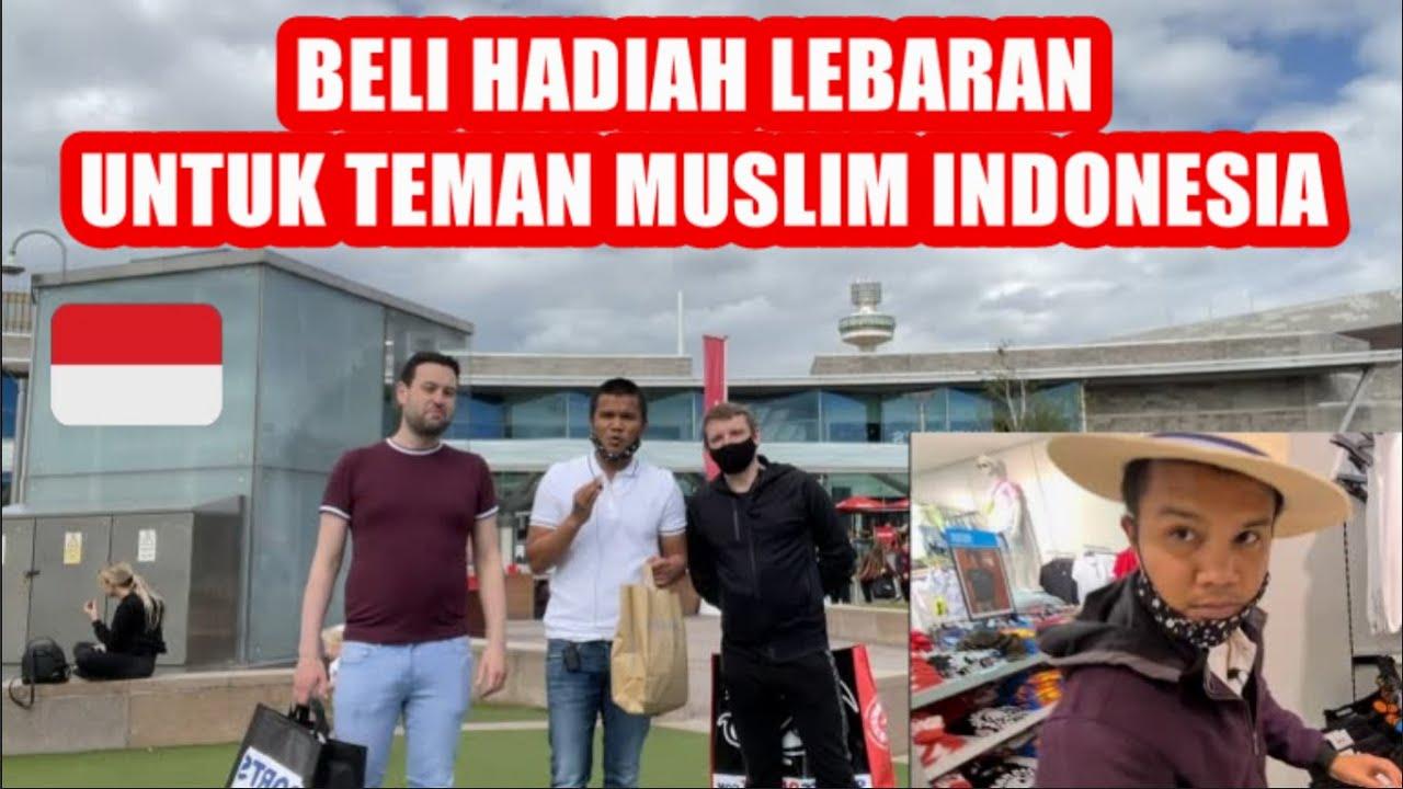 Eid Mubarak : Kejutan THR Lebaran Untuk Teman Muslim Indonesia Di Inggris Part 1🇲🇨