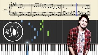 5 Seconds Of Summer - She's Kinda Hot - Piano Tutorial + Sheets