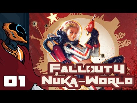 Let's Play Fallout 4: Nuka World DLC - Part 1 - Shoot The Messenger