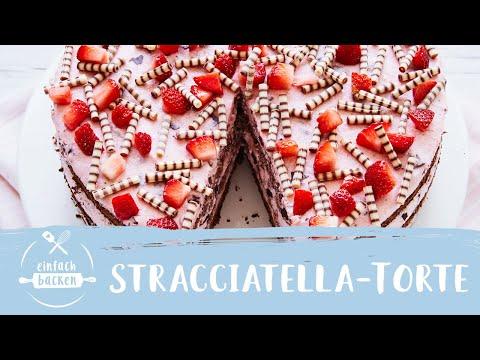 erdbeer-stracciatella-torte-|-einfach-backen