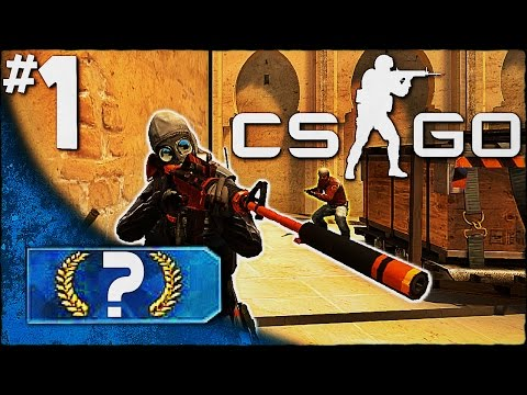 Nervous Clutch!│Road to Getting Ranked│#1 (CS GO Competitive)