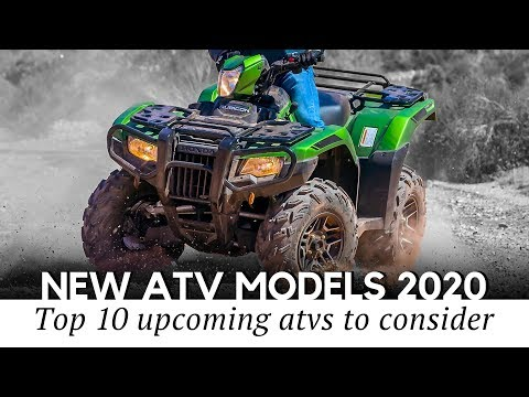 10 New ATV Models and Best Quad Bikes on Sale in 2020