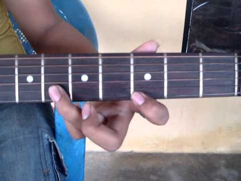 Dhoom tune on guitar.