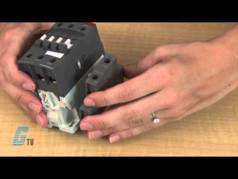How to Install Auxiliary Contacts on the ABB AF Series of Contactors