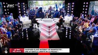 Les Grandes Gueules de RMC: G.Glanz interdit de manifester, atteinte à la liberté de la presse ? - 2