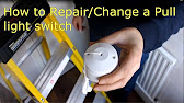 Pull light switch faulty - YouTube