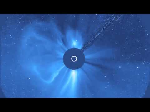 Two Solar Eruptions Blast Off at the Same Time | ESA SOHO Space Science Video