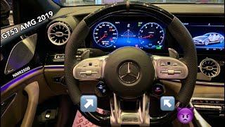 شبيه سمك القرش مرسيدس 2019 GT 53 AMG V6 الجزء ١ لتغطية صالة القيادة الفارهة
