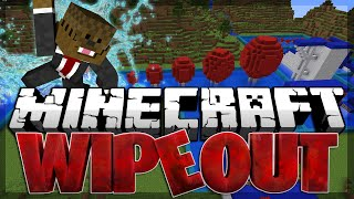 Minecraft Wipeout Race Parkour w/ BajanCanadian, TBNRFrags and JeromeASF