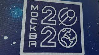 Смотреть видео Москва новогодняя. Новый год 2020 на Тверской. Путешествие в Рождество онлайн