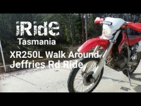 Honda XR250 L Dual Sport Walk Around | Jeffries Road Exploration