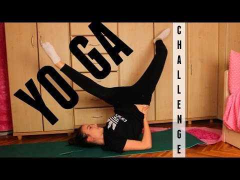 One Person Yoga Challenge   Jana Dačović
