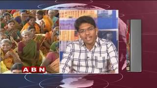 Discussion with Cheyyethi Jai kottu Andhruda Song Writer Aditya Sekhar |Elections 2019 | ABN Telugu