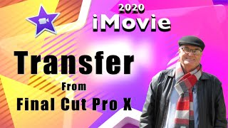 Transfer from FCPX to iMovie - training iMovie