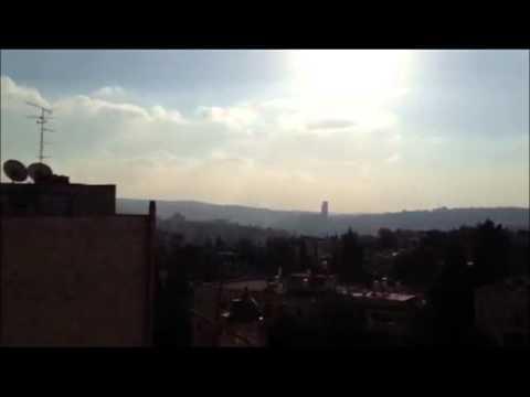 Israel under fire: Team HonestReporting takes cover from Hamas rocket attack on Jerusalem