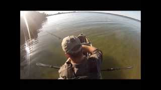 Kayak Fishing Gandy Bridge, (Redfish) Tampa Bay, Florida