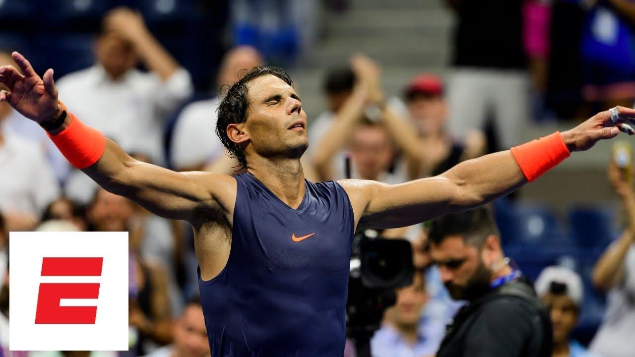 2018 Us Open Highlights Rafael Nadal Beats Dominic Thiem In Five Set Quarterfinal Classic Espn Youtube