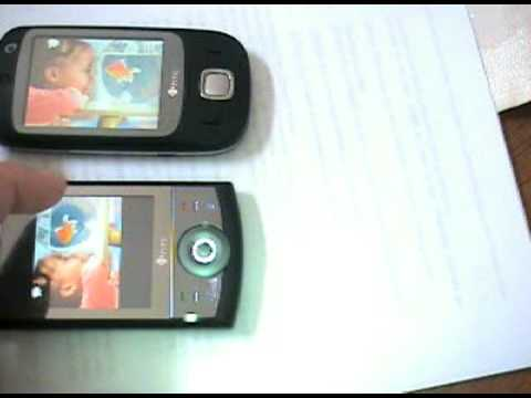 HTC TOUCH CRUISE and Touch Dual in Action 2nd generation Flo
