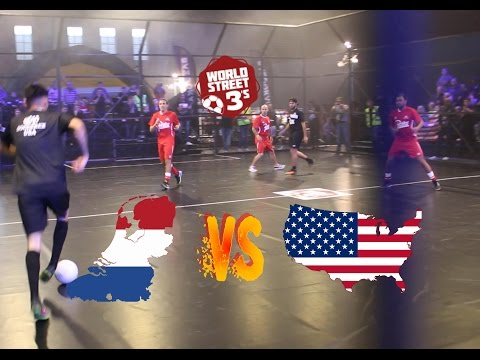 WORLD STREET 3s  NETHERLANDS VS USA  GROUP B GAME