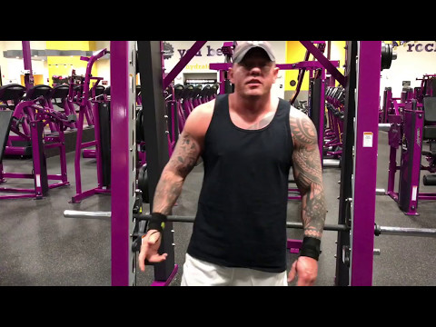 Planet Fitness- How To Do Squats On The Smith Machine