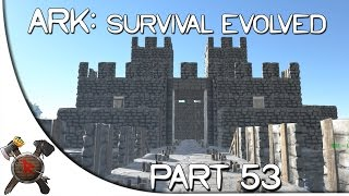 "Ark: Survival Evolved Gameplay - Part 53: ""Medieval Castle!"" (Season 2 w/ Facecam)"