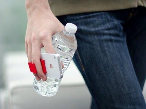 FlyGrip - One-Handed Smartphone Holder